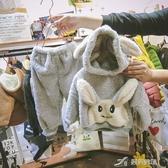 兒童睡衣 秋冬兒童法蘭絨睡衣套裝男童女童保暖珊瑚絨卡通家居服小童卡通潮 樂芙美鞋