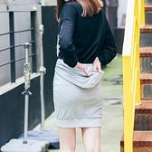 棉質短裙-經典個性間簡約百搭女裙子2色73hv44【時尚巴黎】