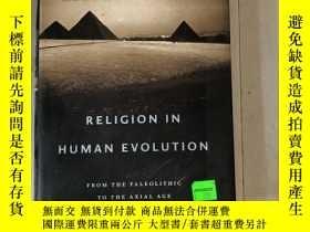二手書博民逛書店人類進化中的宗教Religion罕見in Human Evolu