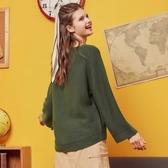美特斯邦威針織衫女2019冬裝新款寬松韓版純色百搭套頭毛衣-CC  韓小姐