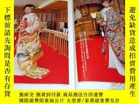二手書博民逛書店Japanese罕見style kimono and dress wedding photo book from