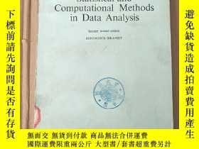 二手書博民逛書店statistical罕見and computational methods in data analysis(P