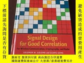 二手書博民逛書店Signal罕見Design for Good Correlat