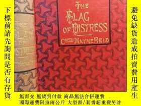 二手書博民逛書店1896年簽名罕見THE FLAG OF DISTRESSY24