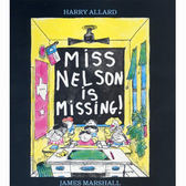 『鬆聽出英語力--第48週』- MISS NELSON IS MISSING /英文繪本附CD《主題:幽默》