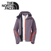【The North Face 女 HV Heatseeker 兩件式外套《灰石藍》】A7HX-D3R/防水/透氣/滑雪外套/保暖/抗寒
