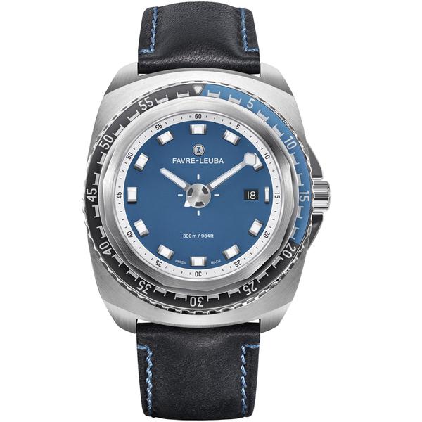 Favre-Leuba域峰表RAIDER系列DEEP BLUE腕錶 00.10102.08.52.41