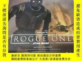 二手書博民逛書店the罕見art of rogue one astar wars