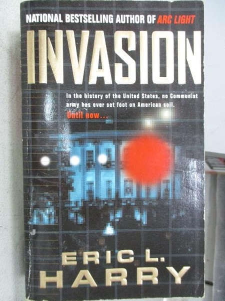 【書寶二手書T5/原文小說_MNR】Invasion_Eric L. Harry