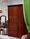【大熊傢俱】8805 美式 三門衣櫃 儲物櫃 衣櫥 收納櫃 置物櫃 抽屜櫃 歐式 另售床台 化妝台