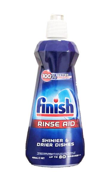 英國進口 Finish 洗碗專用 光亮沖洗清潔劑 400ml