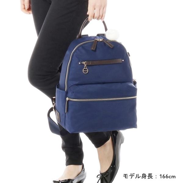Kanana卡娜娜 多功能尼龍大型後背包/附零錢包(玫瑰粉)241007-11