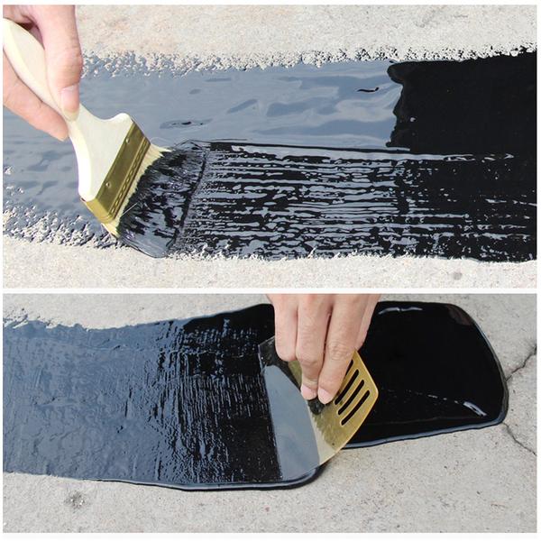 屋頂防水補漏材料外牆窗台房頂瀝青油膏聚氨酯堵漏王防水塗料膠泥  快速出貨