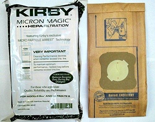 [8美國直購] Kirby Part#197301 - Genuine Kirby Micron Magic Filtration Vacuum Bags Model G6