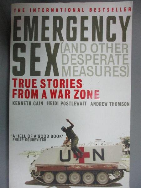 【書寶二手書T8/原文小說_JOG】Emergency Sex (and Other Desperate Measure