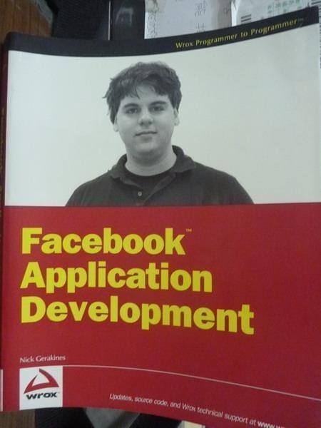 【書寶二手書T6/電腦_QDY】Facebook Application Development