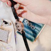 手錶薇婭viya定制2019新款時來運轉手錶抖音網紅同款真皮錶帶女kk315 LX