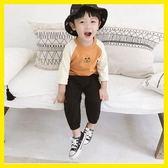 男童長袖T恤2018新款韓版秋裝兒童卡通打底衫休閒寬鬆寶寶上衣潮