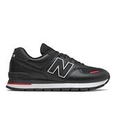 New Balance 574 Rugged 男款黑色運動休閒鞋 ML574DTD