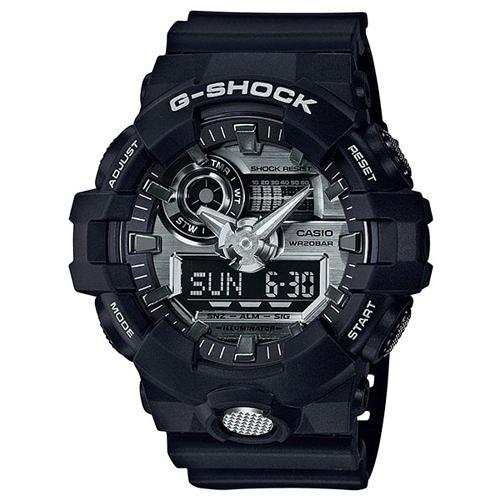 【東洋商行】免運 CASIO 卡西歐 G-SHOCK 3D立體整點刻度雙顯式運動男錶 GA-710-1ADR 手錶 電子錶 腕錶