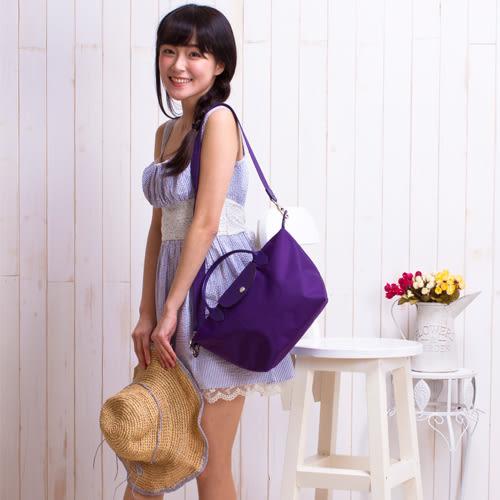 【現貨】側背包 短柄加厚尼龍防水多用包(小尺寸) 水餃包 托特包 手提包
