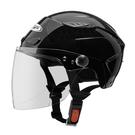 【東門城】ZEUS ZS126DC 素色(黑) 半罩式雪帽 二分之一帽
