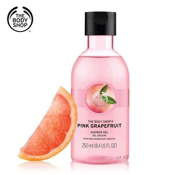 THE BODY SHOP粉紅葡萄柚活力沐浴膠(250ML) 03161725111