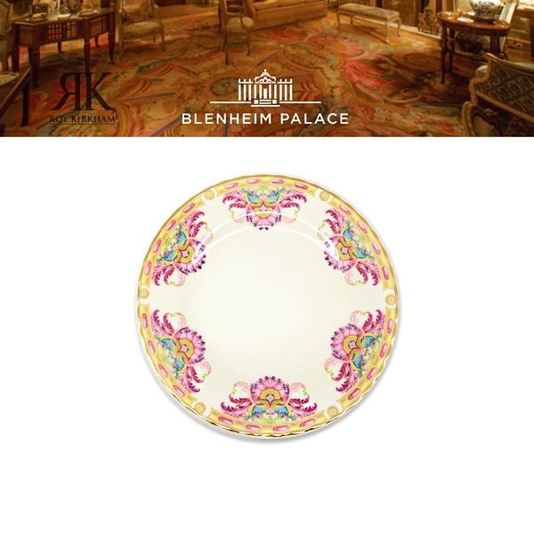 英國Roy Kirkham Grand Cabinet布倫海姆宮系列-22K金-20cm骨瓷盤