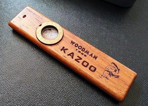 ☆ 唐尼樂器︵☆ Woodman 實木款 Kazoo 卡祖笛(時下搭配民謠吉他和烏克麗麗的新寵)