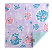 日本今治製有機優質純綿方巾 /  繡球花與蝸牛【 Prairiedog】