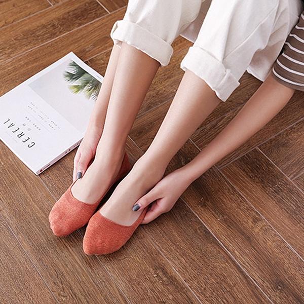 泰博思 日系隱形襪 女襪 船型襪 船口襪 淺口襪 短襪 矽膠防滑 止滑襪【V042】