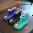 兒童雨鞋塑膠防水防滑可愛卡通雨鞋【橘社小鎮】