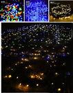 LED100太陽能燈串藍白 聖誕節聖誕樹...