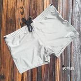 (萬聖節鉅惠)泳褲男士泳褲平角游泳褲 高彈防走光抽繩泳褲 男溫泉泳裝夏季新品