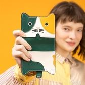 不萊玫2019新款包包女士可愛零錢包可愛貓咪小包大容量多卡位卡包 polygirl