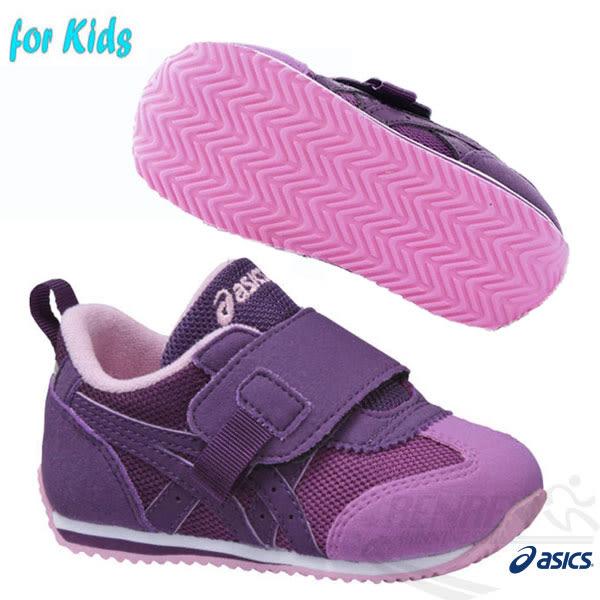 ASICS亞瑟士 兒童學步鞋 IDAHO BABY GR-ES 2 (紫)