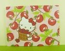 【震撼精品百貨】Hello Kitty 凱蒂貓~卡片-櫻桃粉