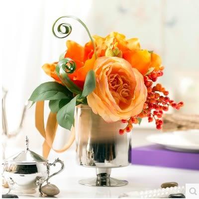 模擬花假花 套裝 花藝 客廳餐桌 裝飾花 花瓶花束 -bri01074