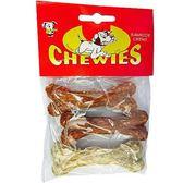 【培菓平價寵物網 】沛貝兒CHEWUES 》B-13 純雞肉包裹脆皮骨 3吋(3入/包)