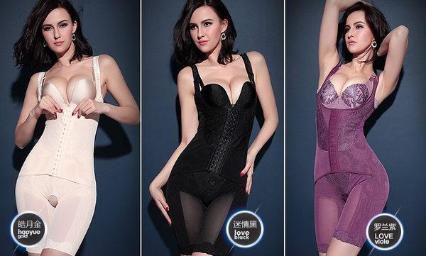 薄款加強型產後束身衣連體四季薄款重壓型收腹衣-mov208