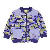 【愛的世界】搖粒絨迷彩夾克/2~4歲-台灣製- ★秋冬上著