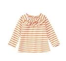 美國 GYMBOREE   橘白條紋上衣 18-24M