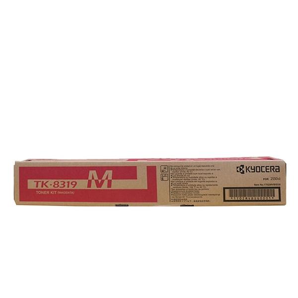 原廠碳粉匣 Kyocera 紅色 TK-8319M /適用 Kyocera TASKALFA 2550CI