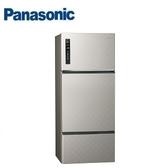 Panasonic 國際牌 三門無邊框鋼板ECONAVI冰箱 NR-C489TV 銀河灰 481公升
