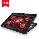 索皇筆記本散熱器14寸15.6寸聯想華碩外星人17寸游戲本風扇手提電腦支架  極客玩家