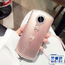 奢華水晶美圖透明手機殼超薄全包軟硅膠保護套【英賽德3C數碼館】