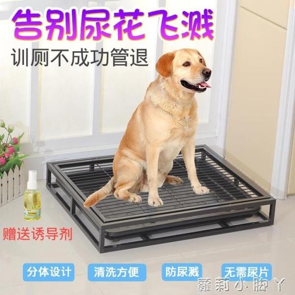 分體狗廁所泰迪狗狗用品寵物尿盆公小型犬狗金毛沖水神器大號便盆 NMS蘿莉新品