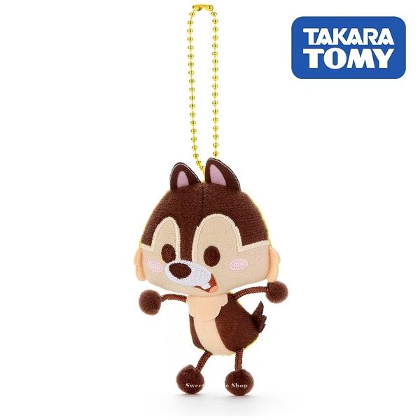 日本限定 迪士尼 奇奇蒂蒂【 奇奇】 TOY COMPANY 擦擦珠鍊吊飾 / 珠鍊玩偶