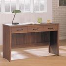 【森可家居】麥納德4尺書桌 8SB238-4 辦公桌 木紋質感 淺胡桃 北歐工業風  MIT台灣製造