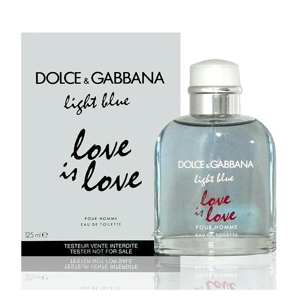 Dolce & Gabbana 淺藍示愛宣言男性淡香水 125ml Tester 包裝